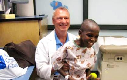 Dr. Jeff Kempf with Samson
