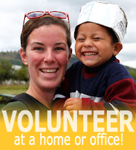 Volunteer at a home or office