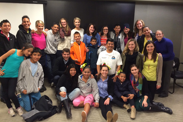 The MW YP Board welcomes children from NPH Nicaragua during the 2014 Pequeño Tour to the Chicago Area