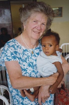 Click to make a donation in honor of Sister Virgina McMonagle