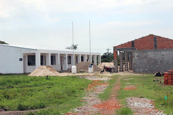 School Building Nears Completion in Bolivia