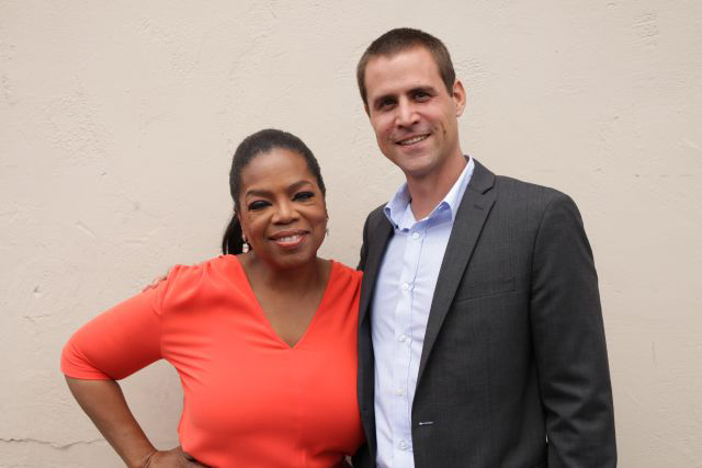 Meeting Oprah!
