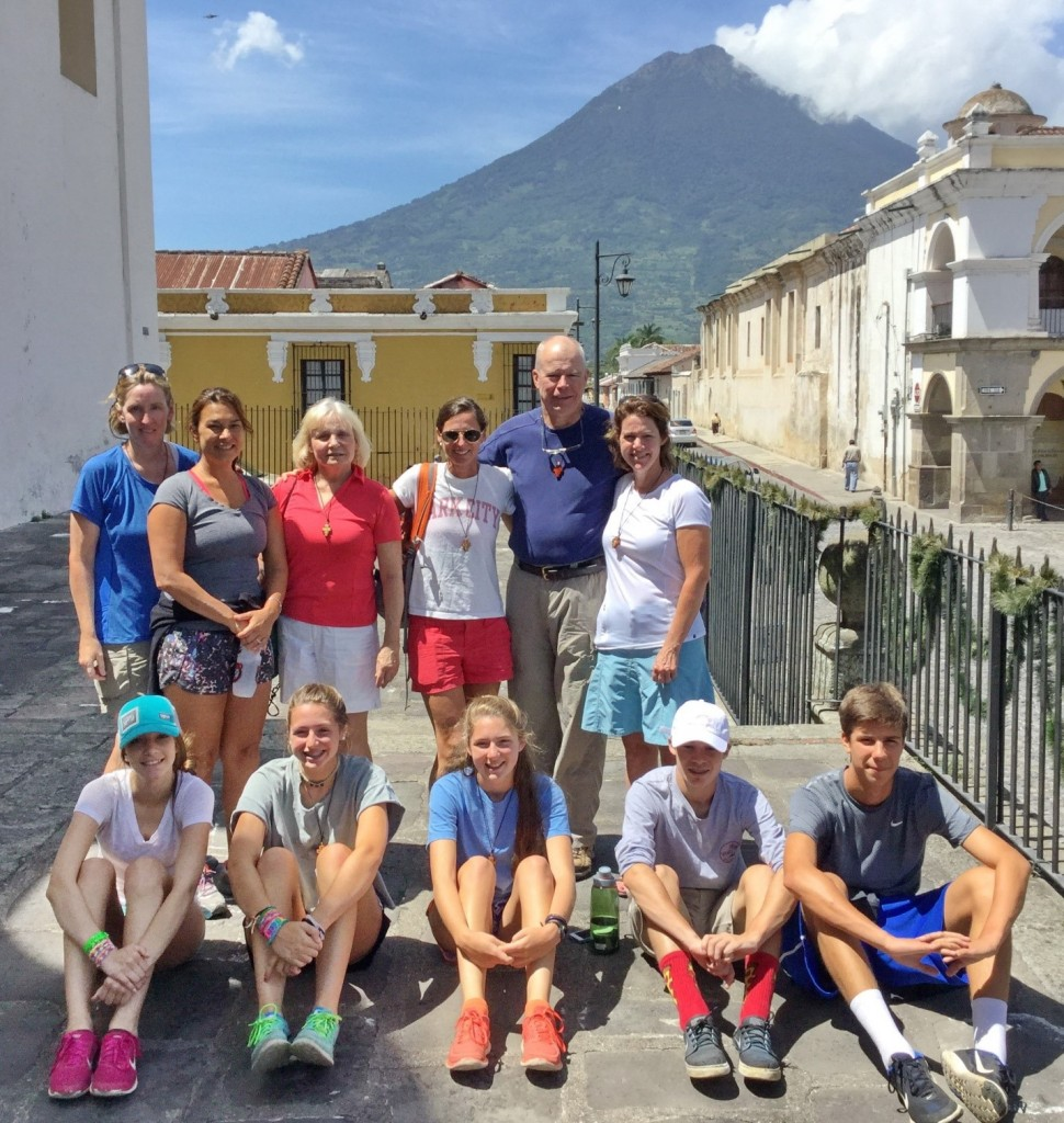 Group picture in Antigua