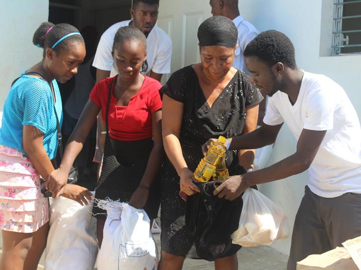 Responding to Hurricane Matthew in Haiti