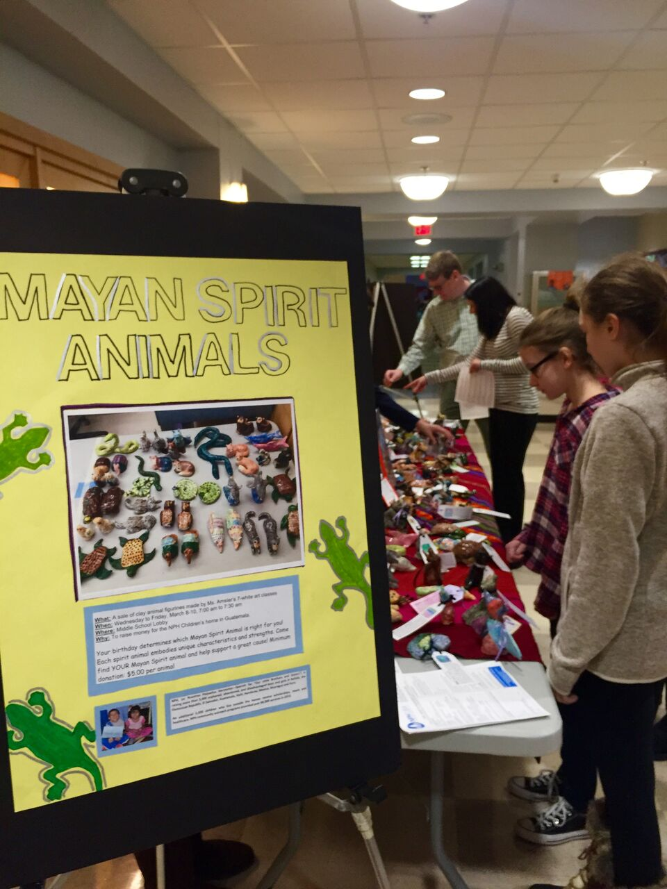 Masconomet Middle School Art Fundraiser (2)
