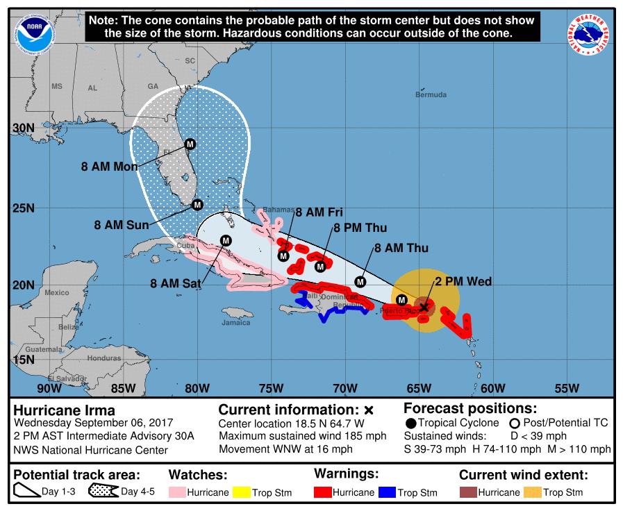 Preparing for Hurricane Irma