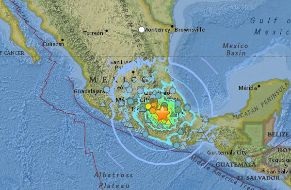 7.1-Magnitude Earthquake Hits Central Mexico:<br />NPH Children Safe