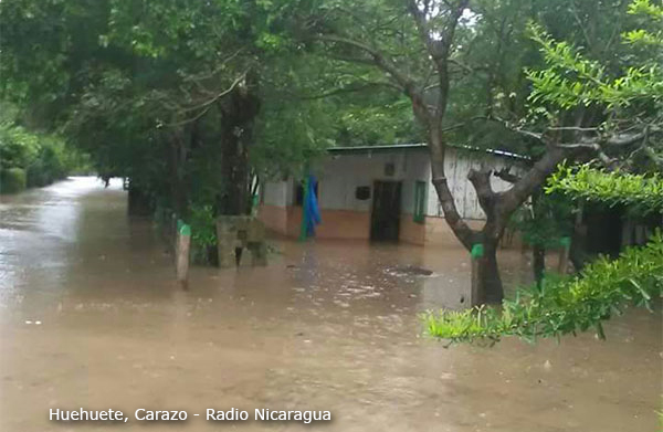 Tropical Storm Nate Hits Nicaragua