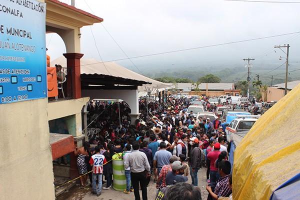 Wet Ash that fell at NPH Guatemala, Casa San Andrés