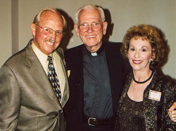Don and Barbara Liem with NPH founder Fr. William B. Wasson in 2002