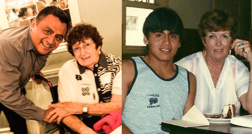 Teddi Lampone and Miguel Venegas