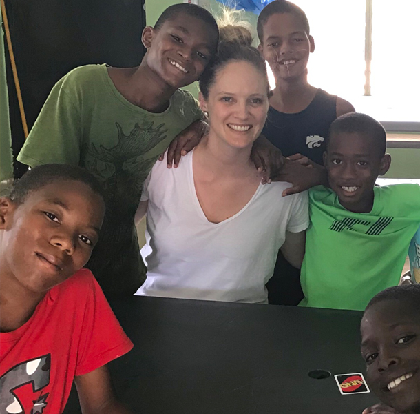 Laura at NPH Dominican Republic