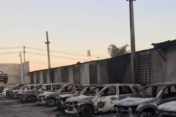 Protesters have burned cars and property in Haiti