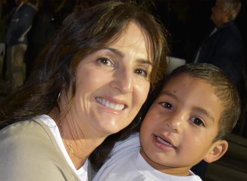 Donna Clancy at NPH Honduras
